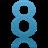 8_blue_x