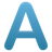 A_blue_x
